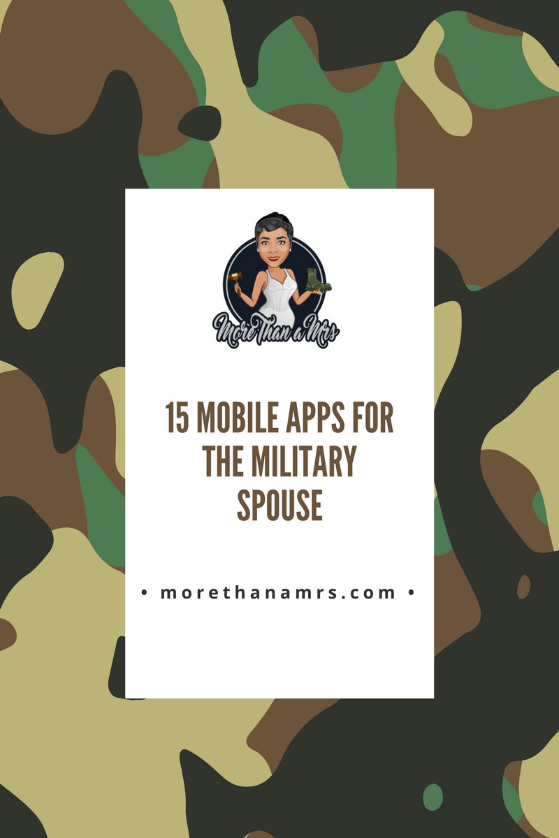 Mobile apps for the military spouse